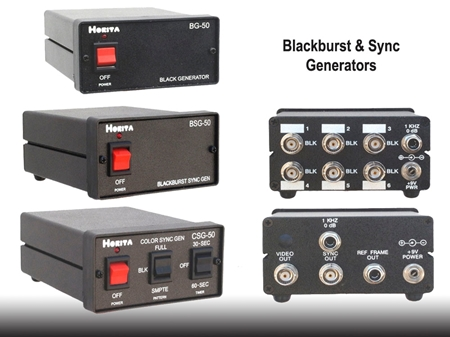Picture for category Blackburst & Sync Generators