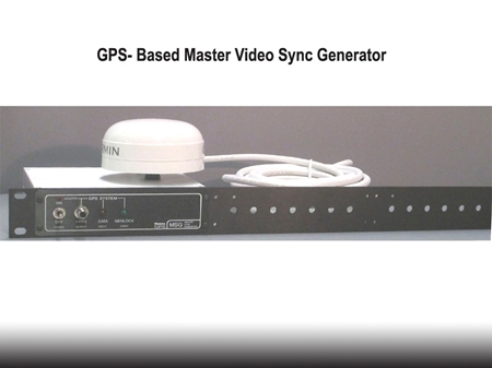 Picture for category GPS- Based Video Sync Generator