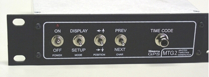 """Picture of GPS-MTG2  GPS- Based """"Master"""" SMPTE Time Code Generator"""